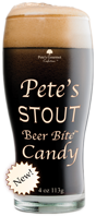 Pete's STOUT Beer Bites Candy