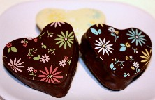 LOVE ME SO Mallows | Chocolate Covered Marshmallow Hearts | Valentine's Chocolate Gift