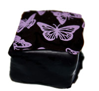 Dark Chocolate Lavender Marshmallows 15 pc Gift Box