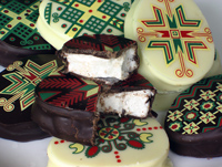 Ukrainian Chocolate Marshmallow Holiday Eggs
